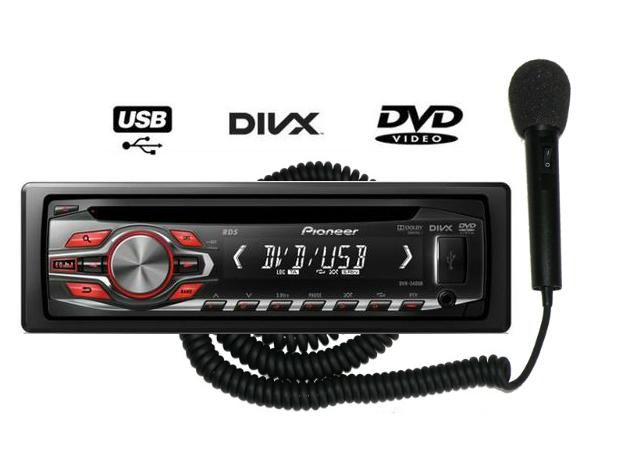 dvd-piooner-wzmacniacz-mikrofon