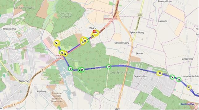 Monitorowanie pojazdów GPS